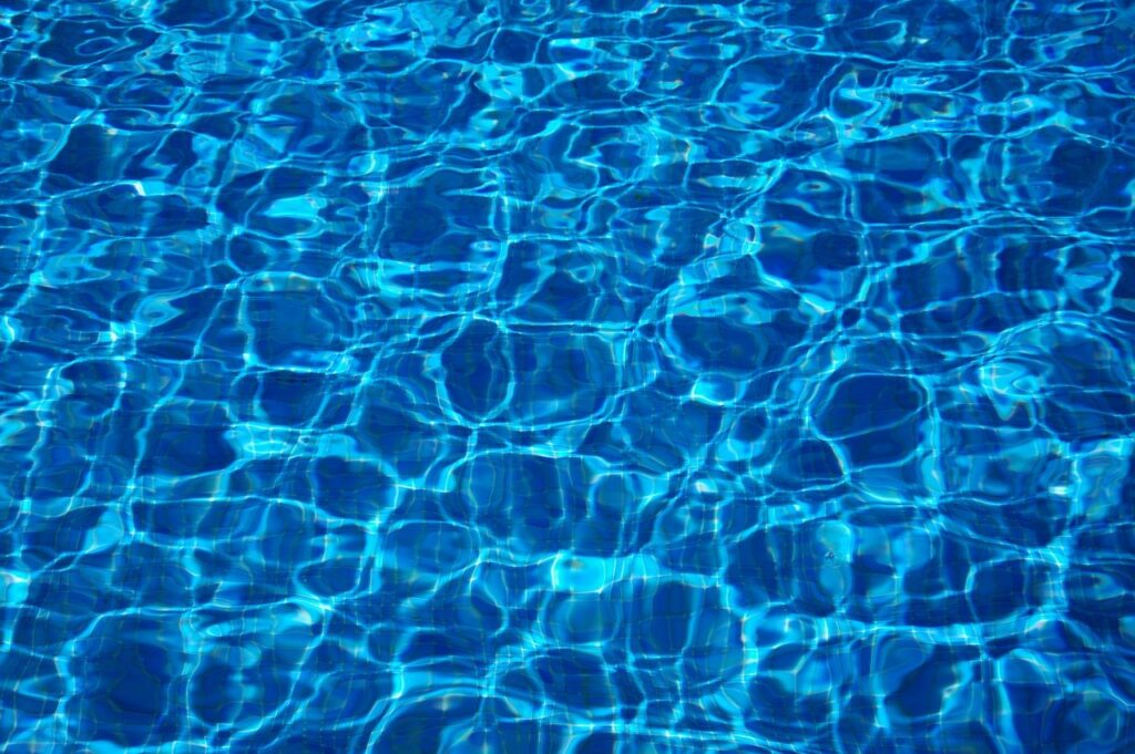water, swimming pool, blue water