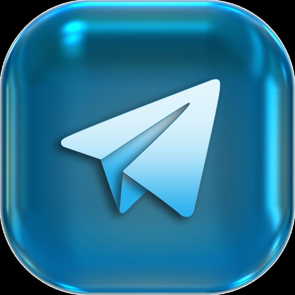 telegram, mobile application, icon