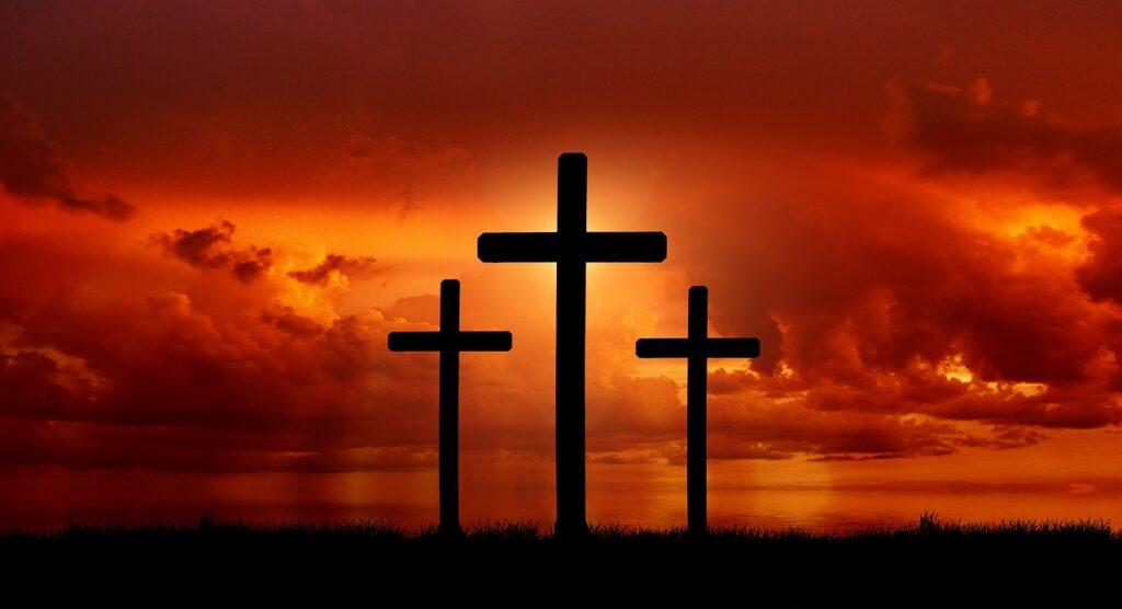 crosses, crucifixion, resurrection